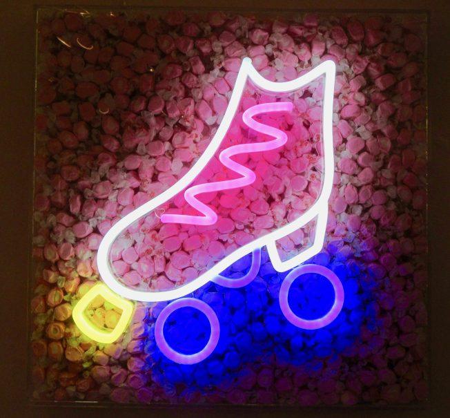 Pink Roller Skate
