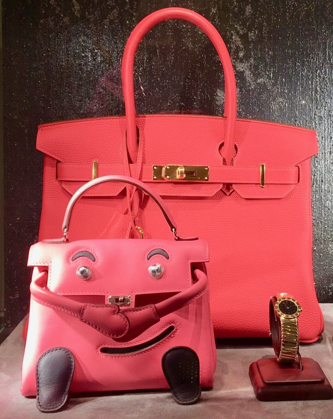Pink Kelly Doll Bag