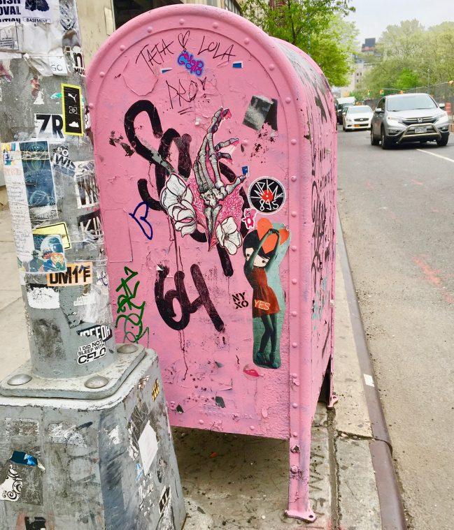 Pink Mail Box