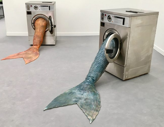 Mermaid Sculptures By Olivia Erlanger