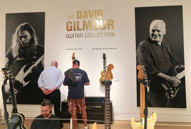 David Gilmour Guitar Backdrop