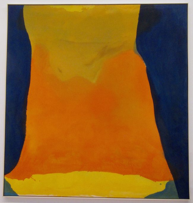 Helen Frankenthaler Orange Mood