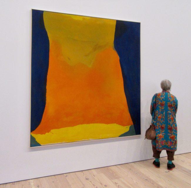 Helen Frankenthaler Orange Mood