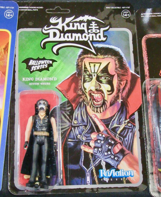 King Diamond Action Figure