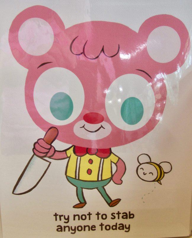 Jellykoe Stabby Bear