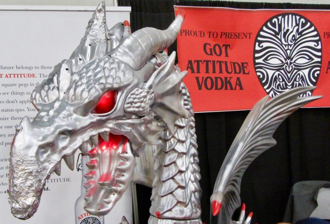 Got Attitude Vodka Dragon