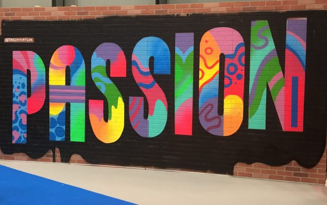 Passion Mural By Jason Naylor