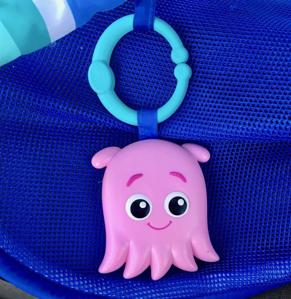 Pink Octopus Baby Toy