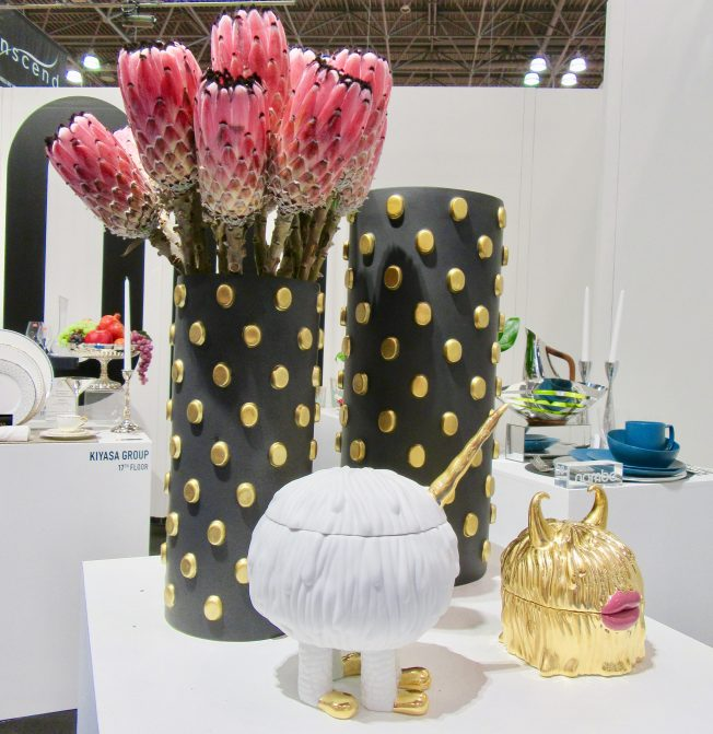 Vase Display With Protea