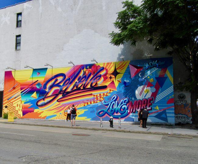 Queen Andrea Believe Mural