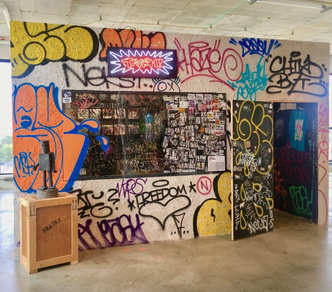 Trash Records Pop Up Record Store