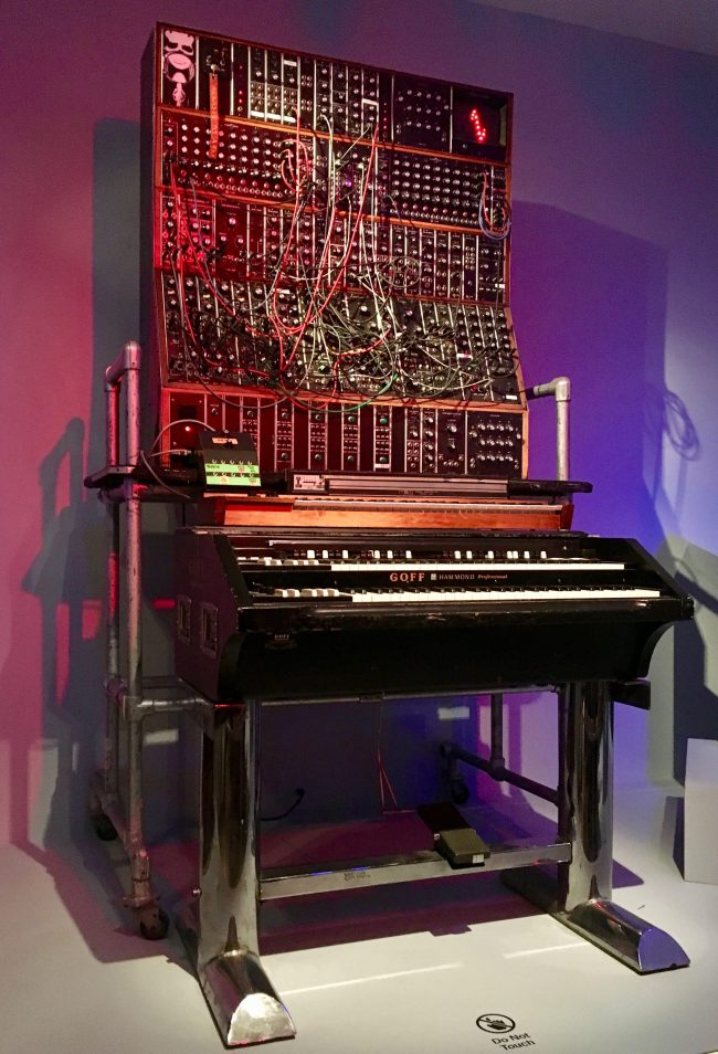 Keith Emerson Moog Synthesizer
