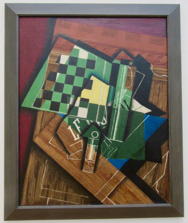 Juan Gris The Checkerboard