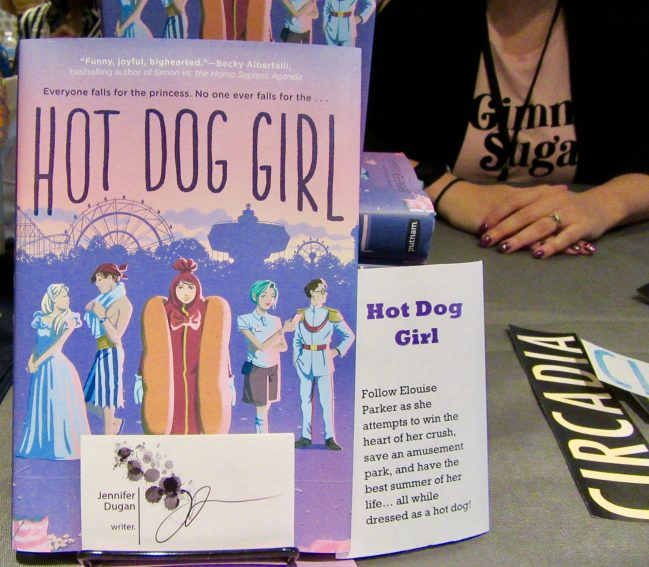 Hot Dog Girl Novel