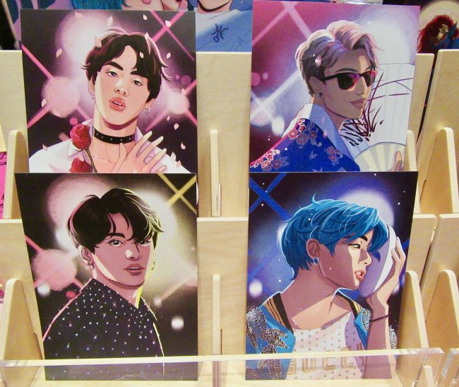 BTS Post Cards By Julia Reck