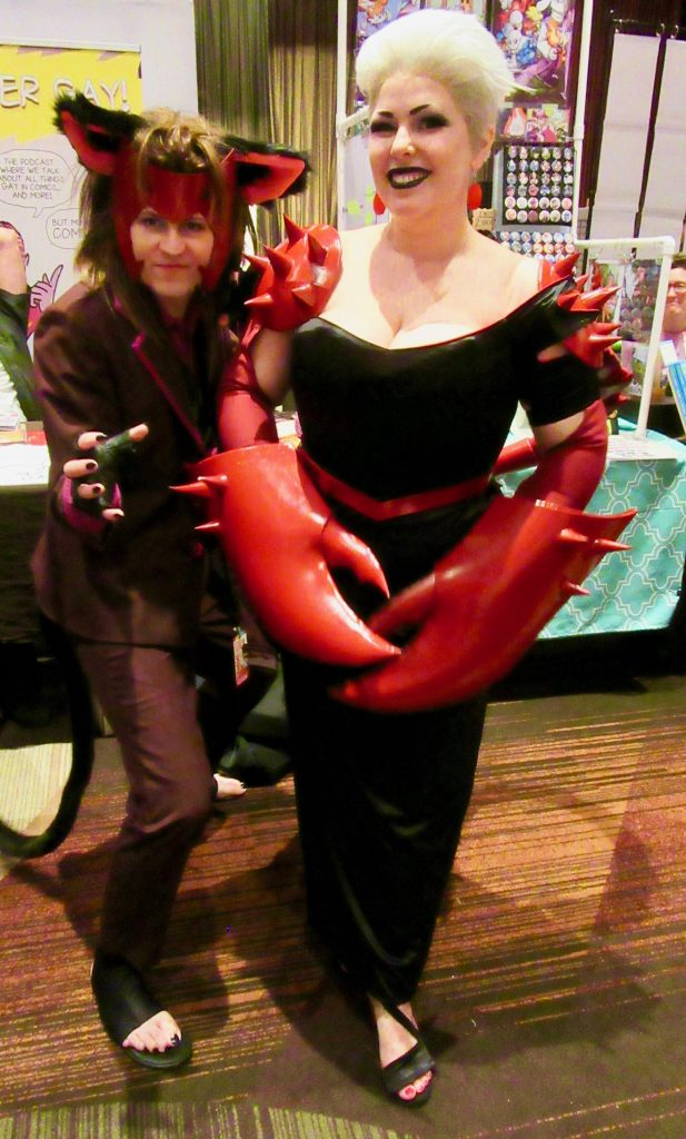 Fox and Lobster Woman