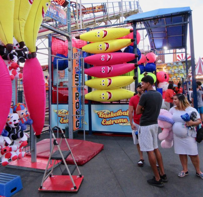 Pink Banana Carnival Booth