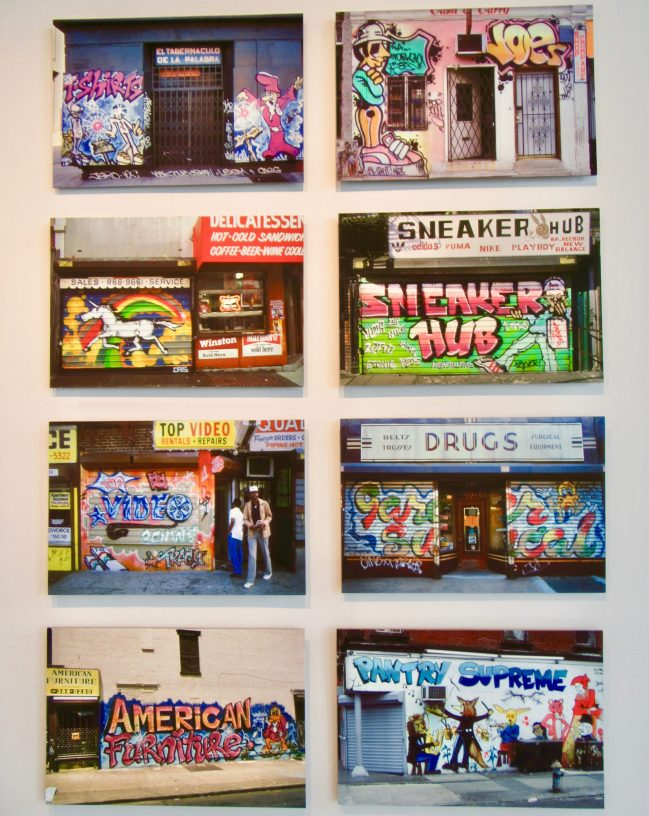 Storefront Mural Photos By Jim Prigoff