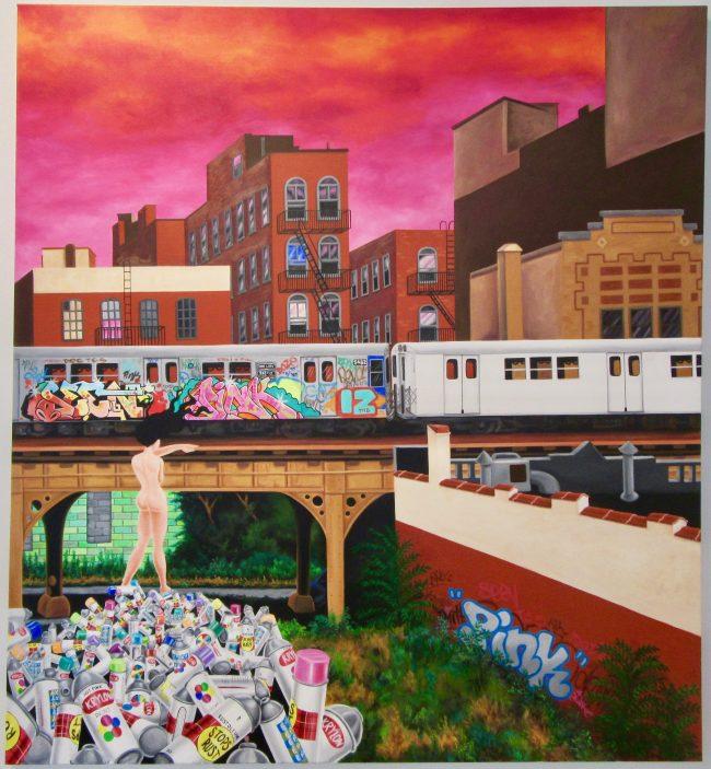 Death of Graffiti 3 By Lady Pink