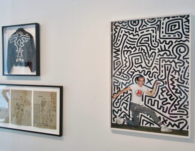 Keith Haring and JMB