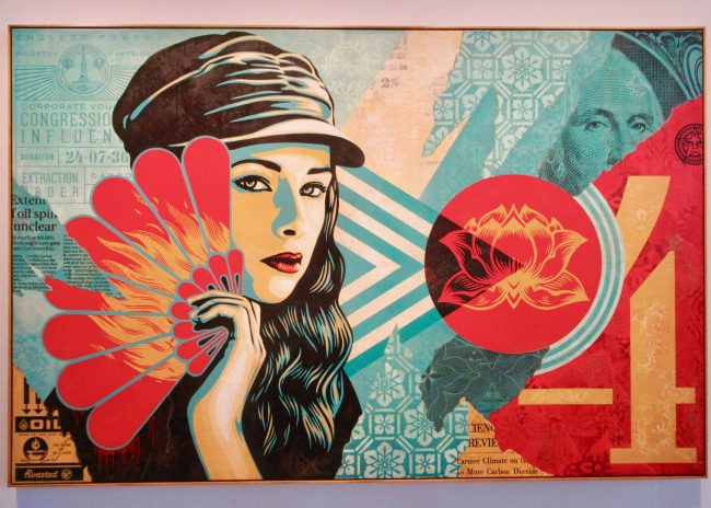 Fan The Flames By Shepard Fairey
