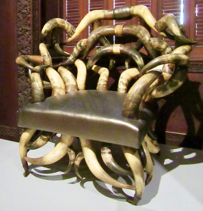Steer Horn Chair