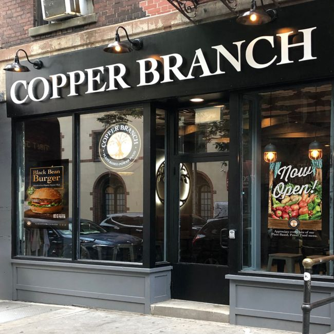 Copper Branch Store Exterior