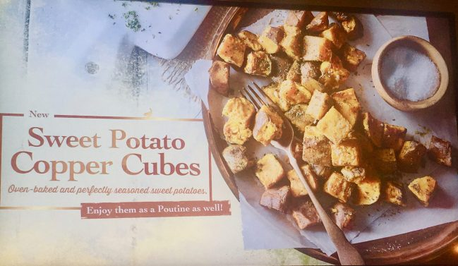 Sweet Potato Copper Cubes