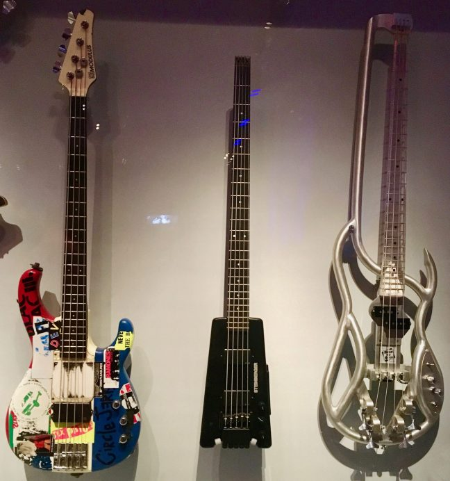 F4B Aluminum Bass Guitar Installation View