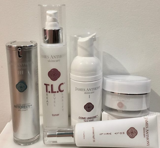 James Anthony Skin Care Line