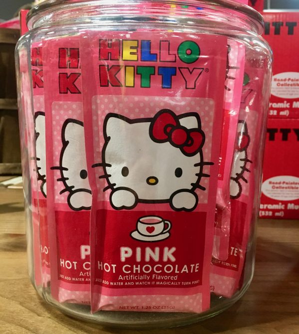 Hello Kitty Pink Hot Chocolate