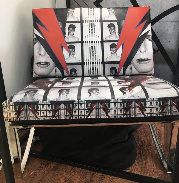 David Bowie Chair