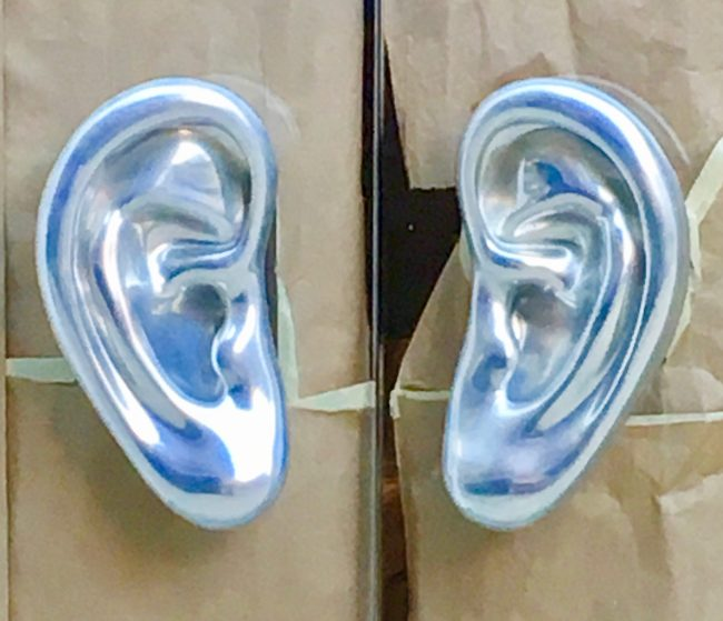 Ear Shaped Door Pulls