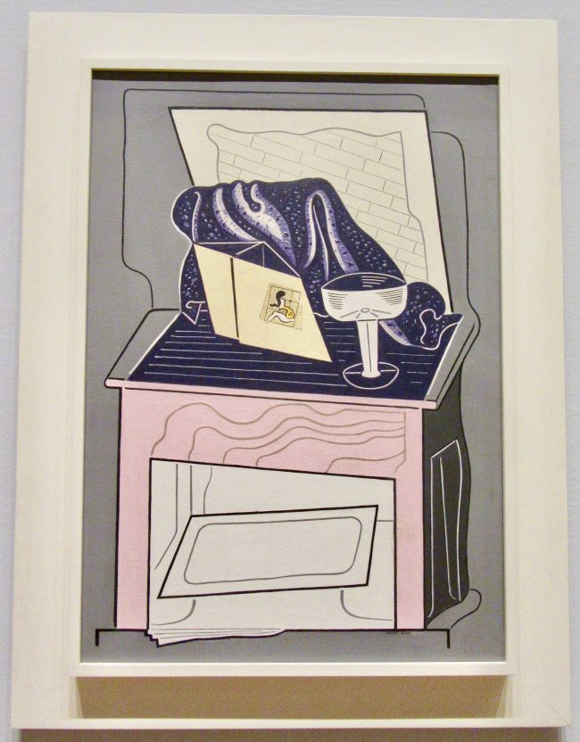 Stuart Davis Super Table