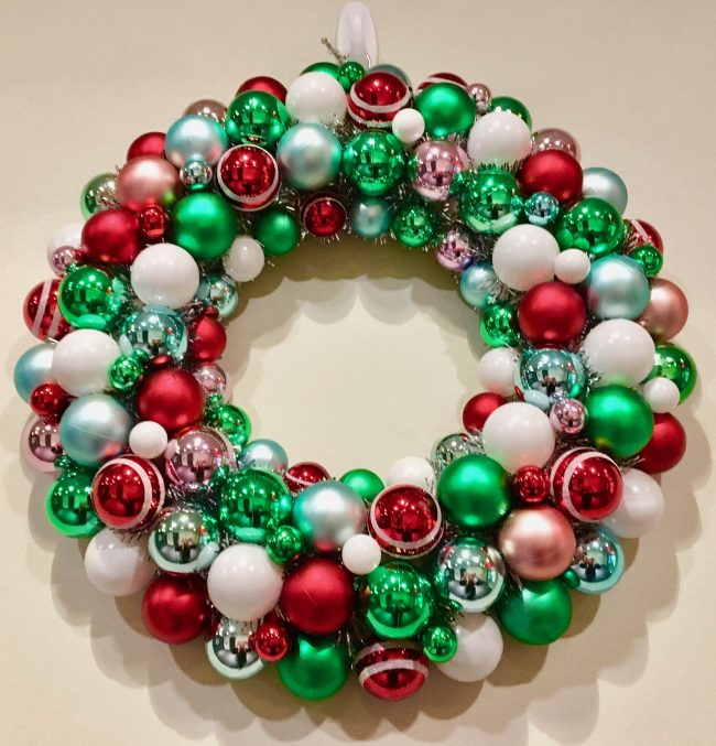 Holiday Bulb Wreath
