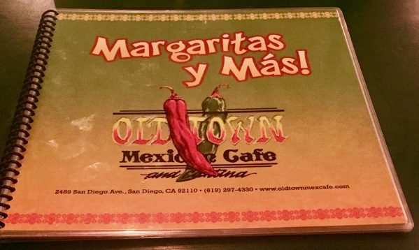 Old Town Mexican Cafe Menu By Gail