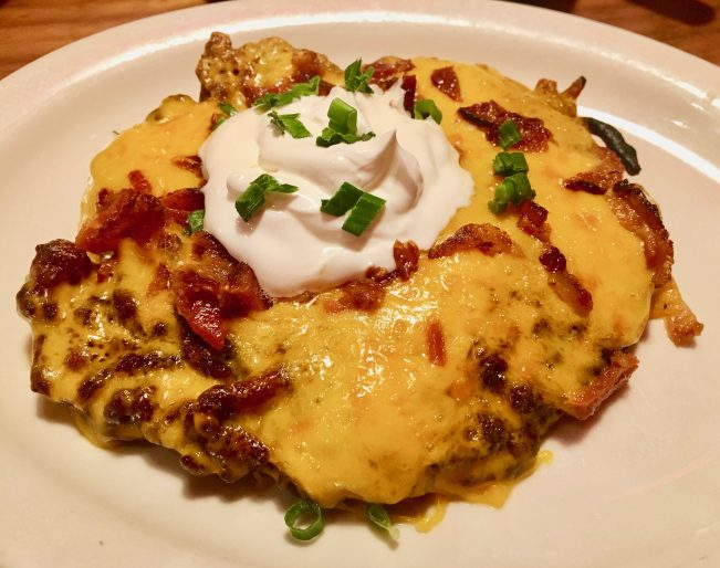 Loaded Potato Pancake