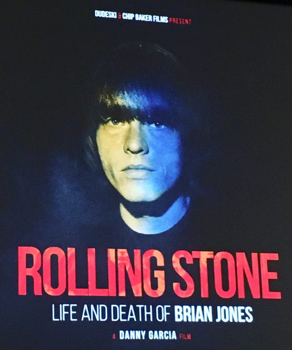 Brian Jones Movie Poster By Gail Worley