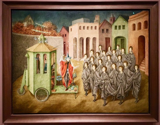 Remedios Varo The Juggler By Gail Worley