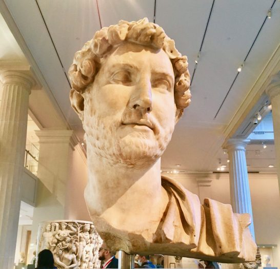 Head of Emperor Hadrian By Gail Worley