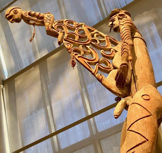 New Guinea Bis Poles Detail By Kat Bentley