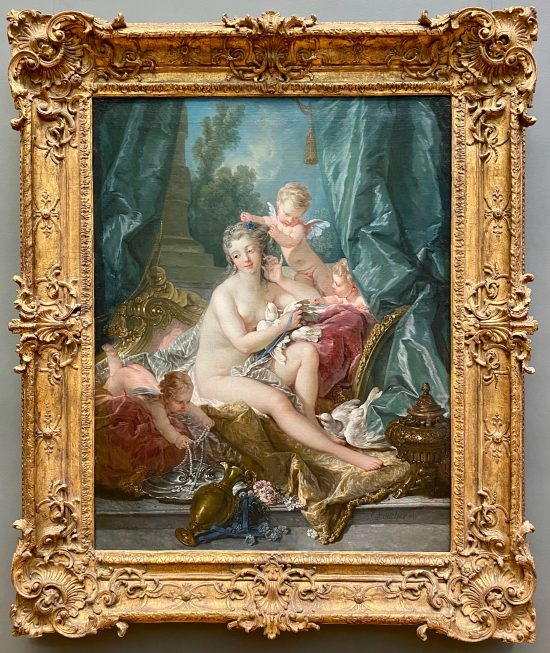 Toilette of Venus By Francois Boucher By KB