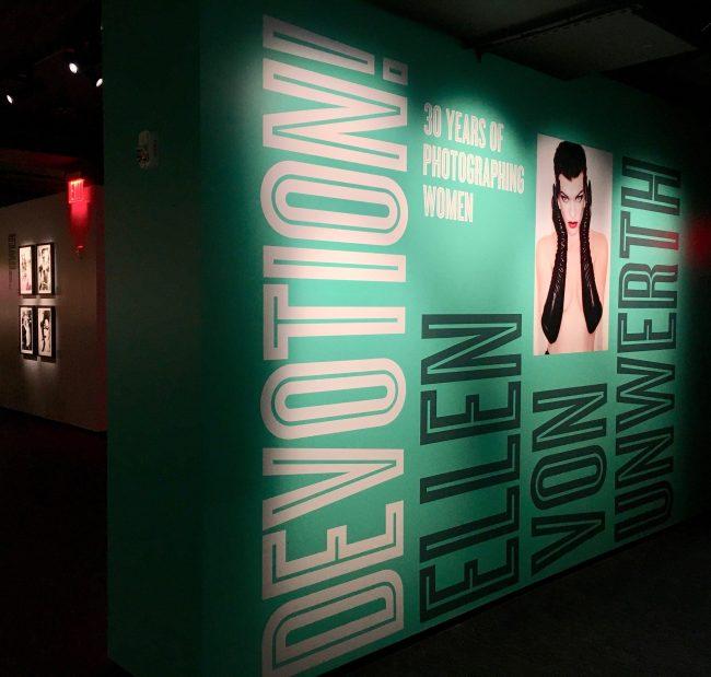 Ellen von Unwerth Exhibit Signage By Gail Worley