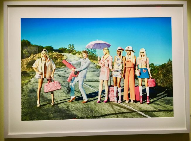 Its a Barbie World By Ellen von Unwerth Photo By Gail Worley