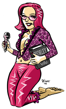Worleygig Illo By Dean Haspiel