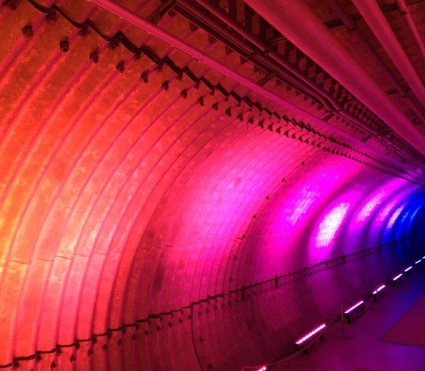 rainbow tunnel photo by gail worley