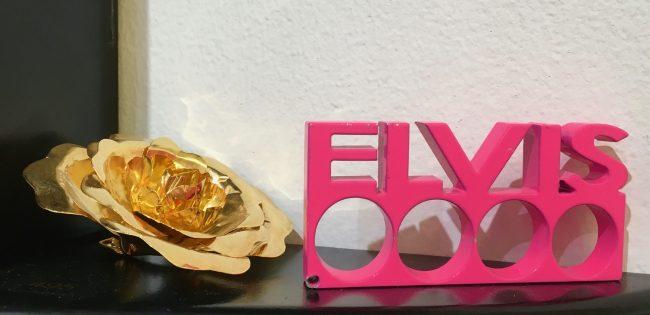 pink elvis brass knuckles photo by gail worley