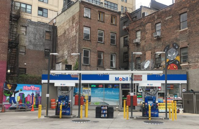 mobil station photo by gail worley