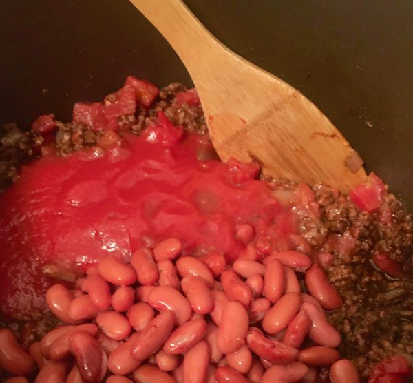 Chili With Beans Photo By Gail Worley