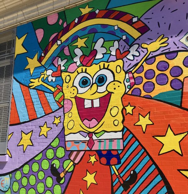 sponge bob mural photo by gailworley